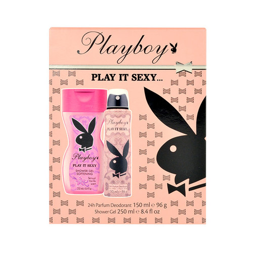 Playboy Play It Sexy W deodorant 150ml Deodorant 150ml + 250ml sprchový gel