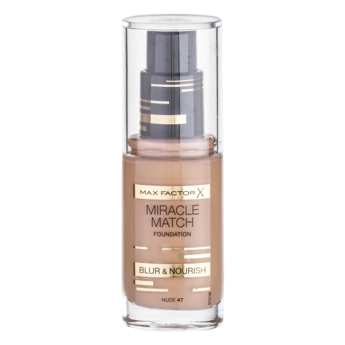 Max Factor Miracle Match Foundation 30ml - 47 Nude