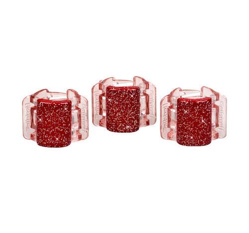 Linziclip Mini Hair Clip - Red Glitter