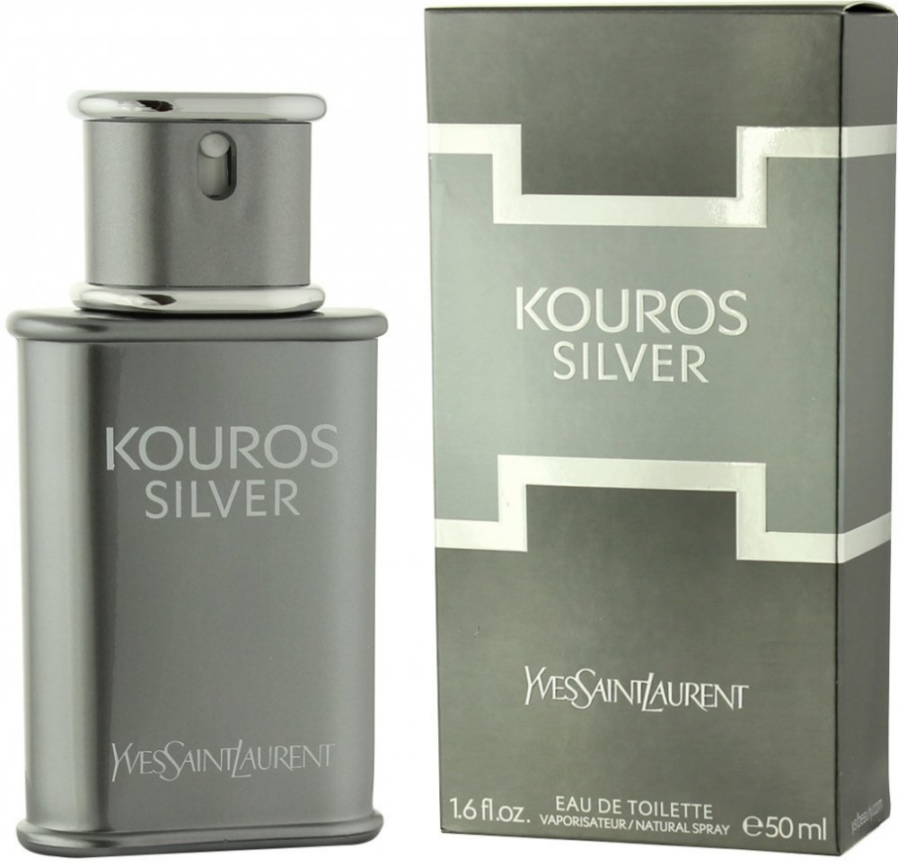 Yves Saint Laurent Kouros Silver EDT 50 ml M