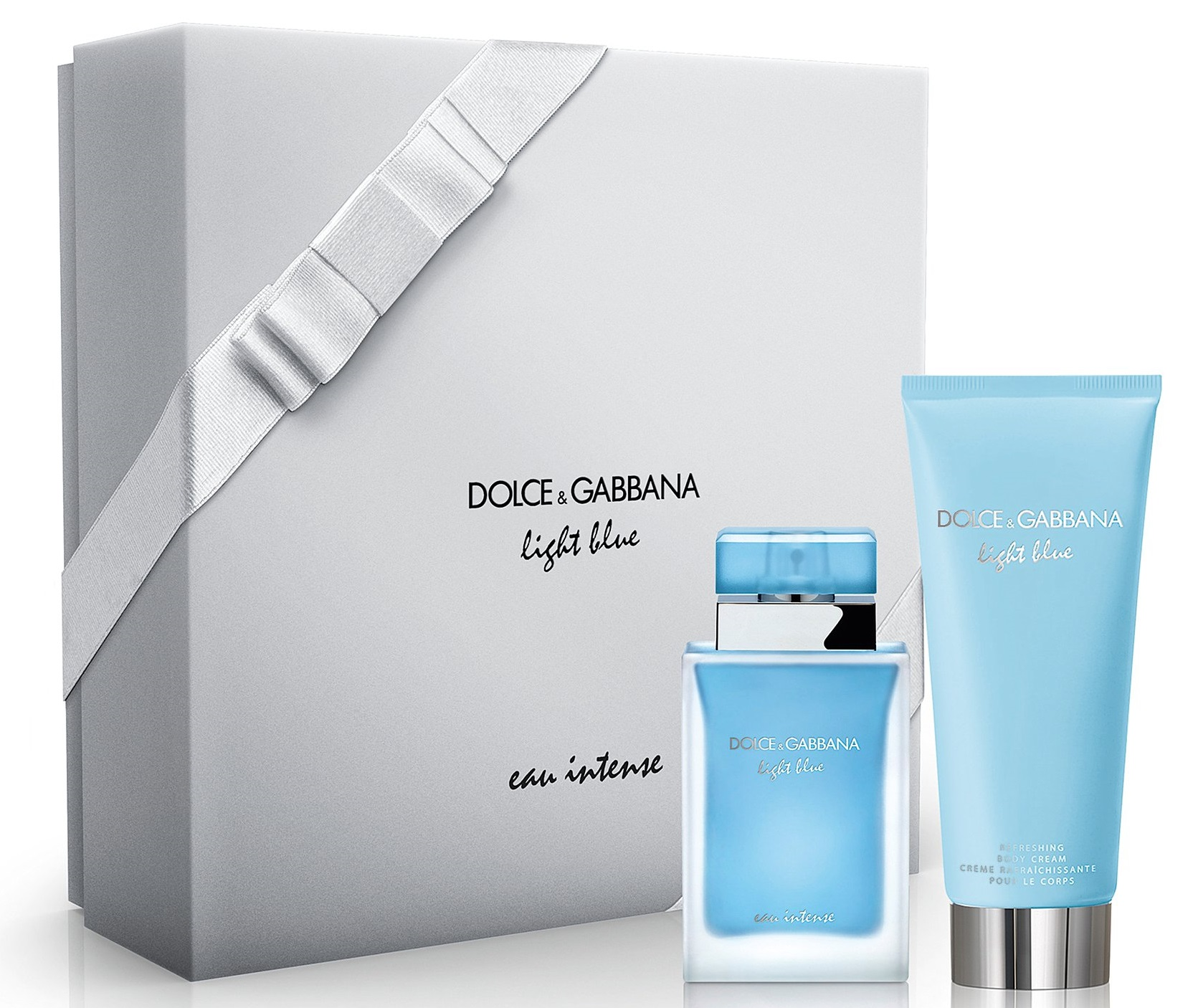 Dolce & Gabbana Light Blue Eau Intense W EDP 50ml + BL 100ml