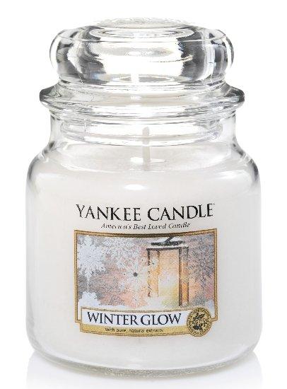 Yankee Candle Zářivá zima 411g