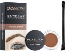 Makeup Revolution London Brow Pomade With Double Ended Brush