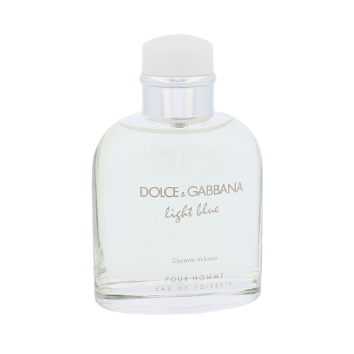 Dolce & Gabbana Light Blue Discover Vulcano Eau De Toilette 125 ml (man)