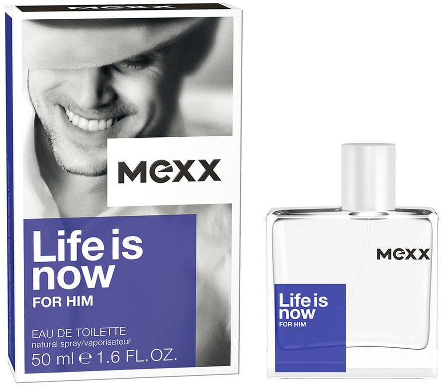 Mexx Life Is Now For Him 50 ml toaletní voda pro muže