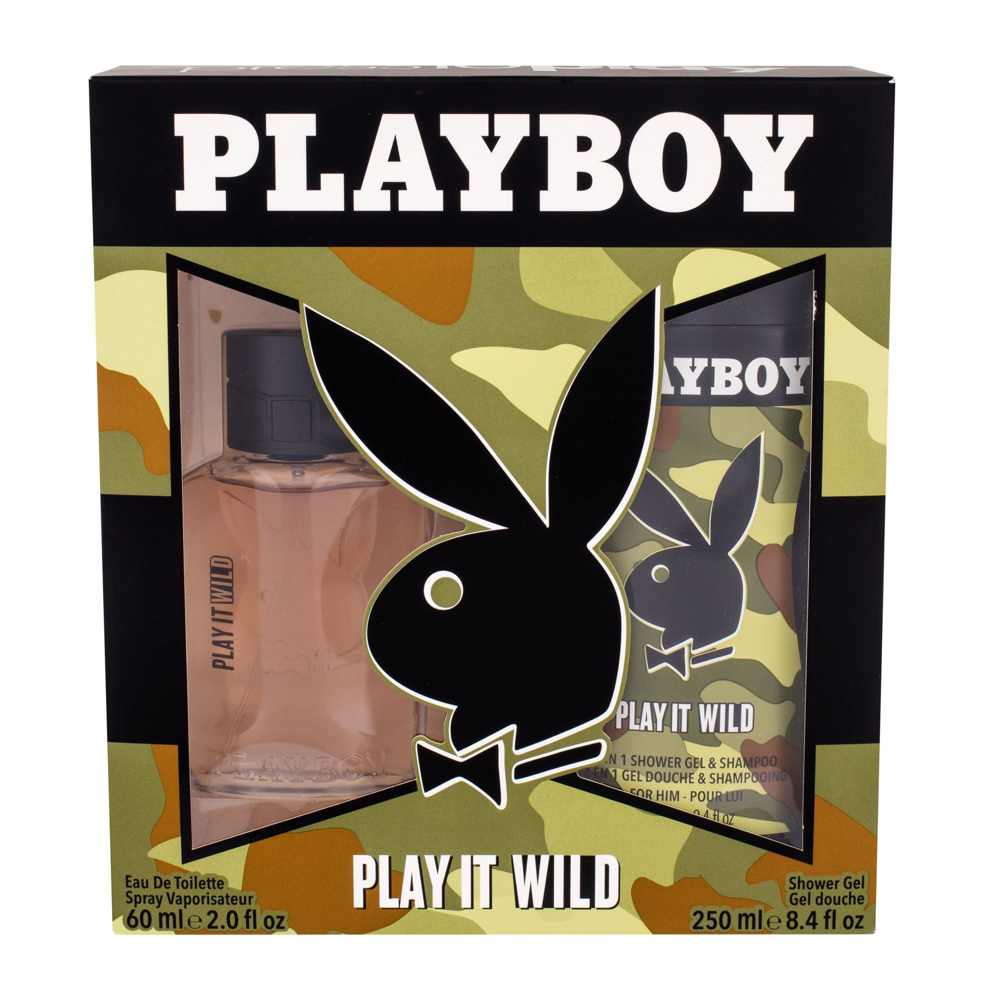 Playboy Play It Wild M EDT 60ml + SG 250ml