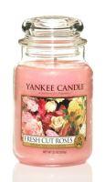 Yankee Candle Classic 623g  Fresh Cut Roses