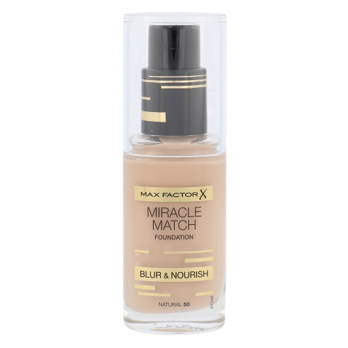Max Factor Miracle Match Foundation 30ml - 50 Natural