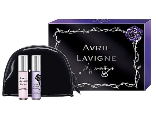 Avril Lavigne My Secret W EDP 10ml Black Star + EDP 10ml Forbidden Rose
