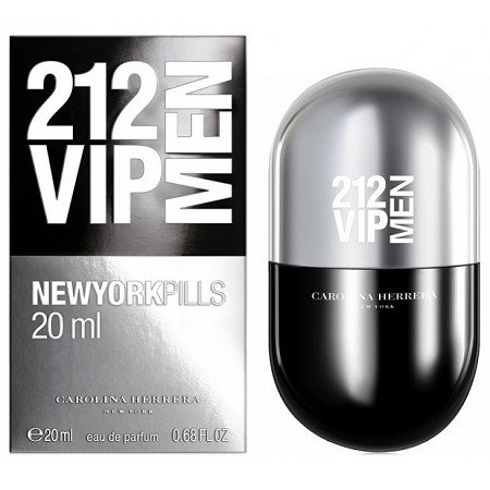 Carolina Herrera 212 VIP Men Pills M EDT 20ml