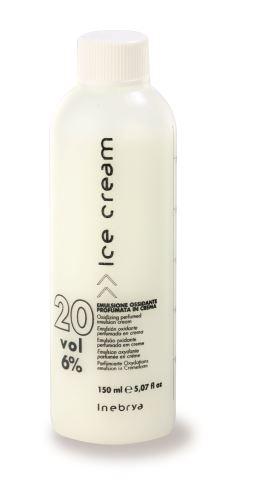 Inebrya Krémová parfémovaná okysličená emulze 20 Vol. (6%) 150ml