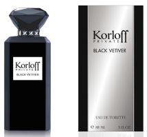 Korloff Private Black Vetiver M EDT 88ml
