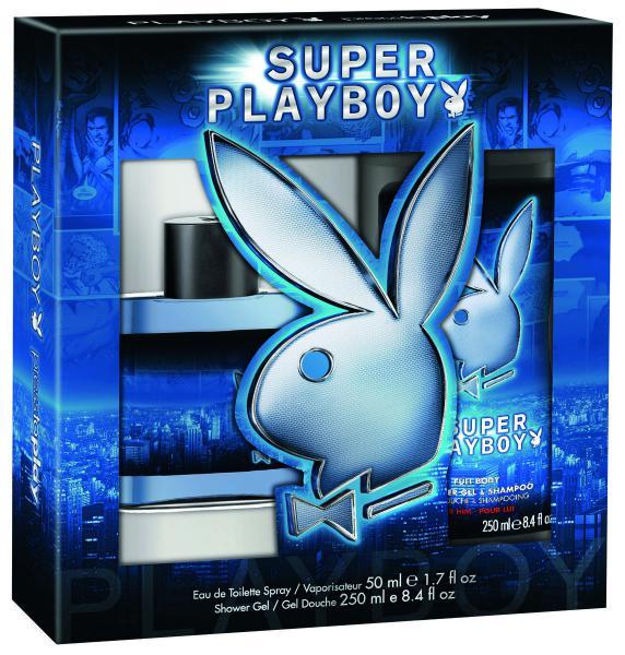 Playboy Super Playboy M EDT 50ml + SG 250ml