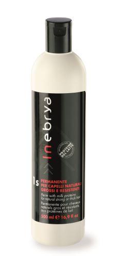 Inebrya 1 Perm For Natural Strong & Thick Hair 500ml trvalá ondulace vlasů 500 ml