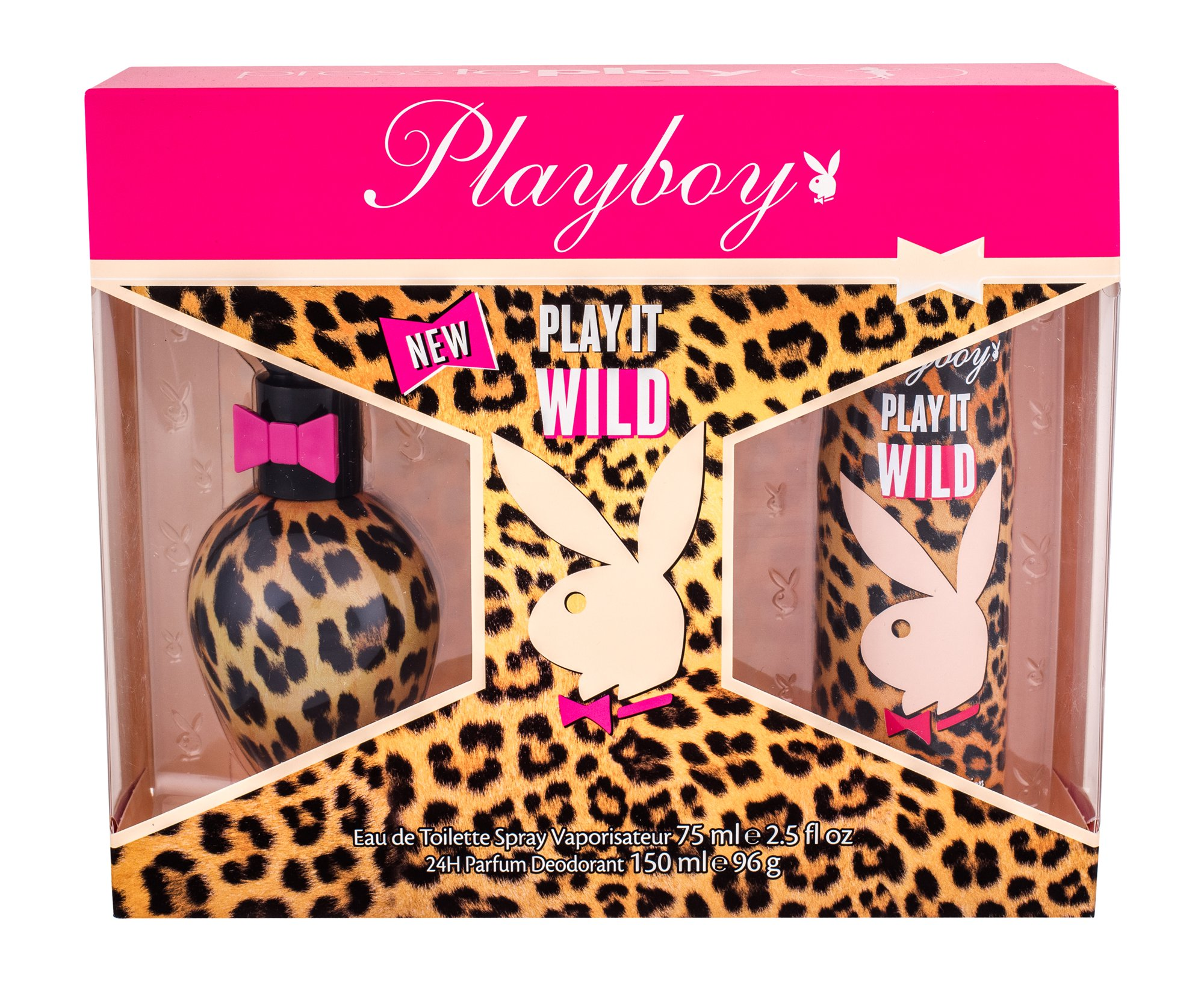 Playboy Play It Wild W EDT 75ml + deodorant 150ml