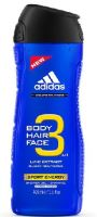 Adidas 3in1 Sport Energy Sprchový gel 400ml M