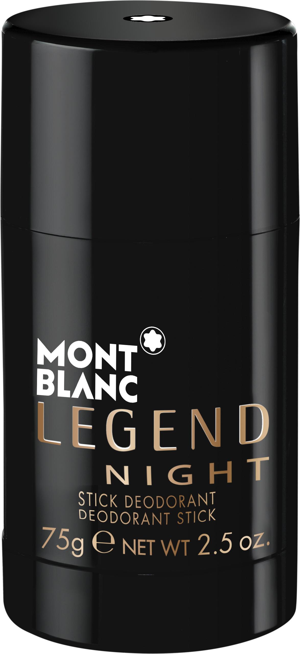 Mont Blanc Legend Night Deodorant Stick M 75g
