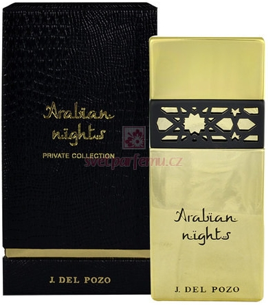 Jesus Del Pozo Arabian Nights Private Collection W EDP 100ml