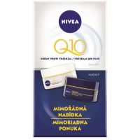 Nivea Q10 Plus Day Night Cream W denní krém na suchou pleť 100ml 50ml Q10 Plus Day Cream + 50ml Q10 Plus Night Cream