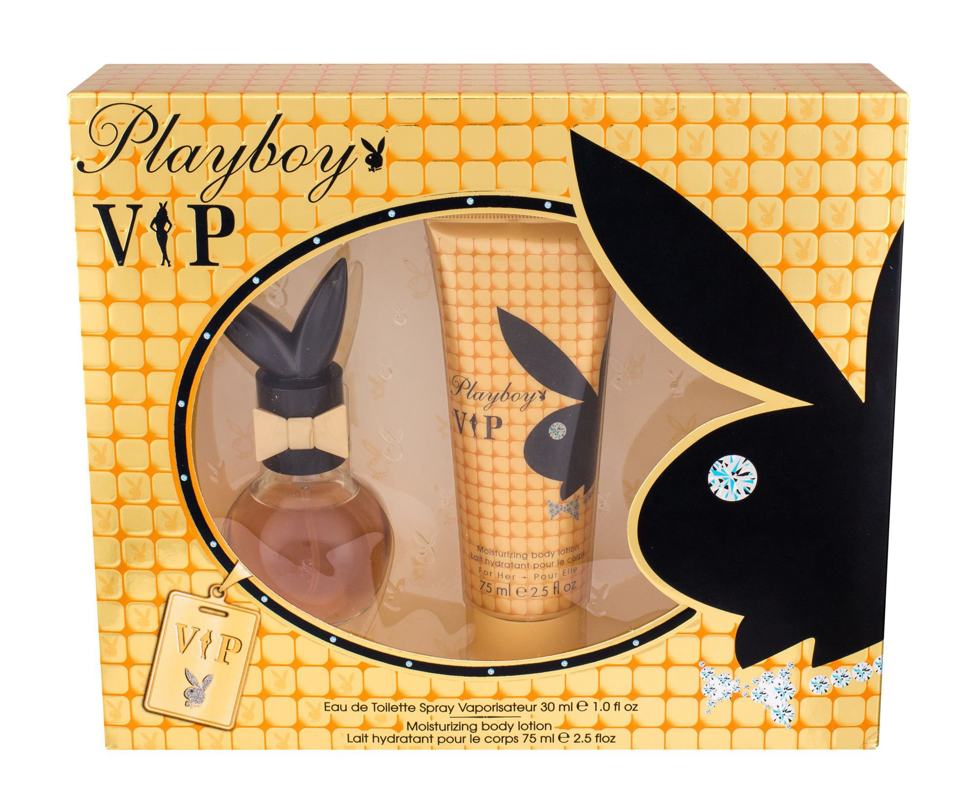 Playboy VIP W EDT 30ml + BL 75ml