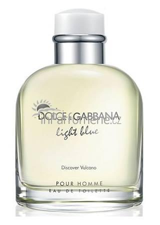Dolce & Gabbana Light Blue Discover Vulcano Pour Homme M EDT 125ml TESTER