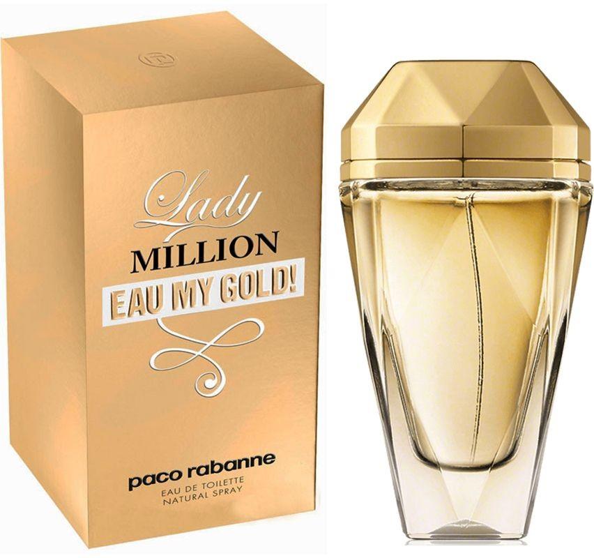 Paco Rabbane Lady Million Eau My Gold! W EDT 80ml