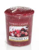 Yankee Candle votivní svíčka Cranberry ice 49g