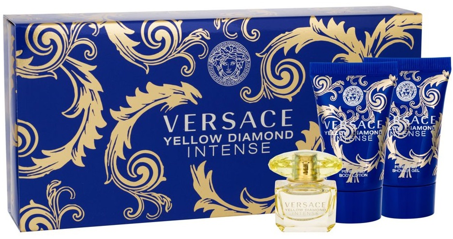 Versace Yellow Diamond Intense W EDP 5ml + SG 25ml + BL 25ml
