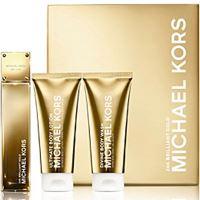 Michael Kors 24K Brilliant Gold W EDP 100ml + BL 100ml + SG 100ml