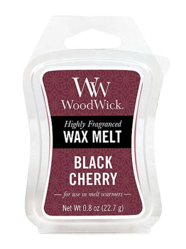 WoodWick Vonný vosk Black cherry 22,7g