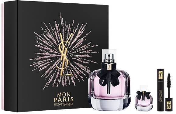 Yves Saint Laurent Mon Paris W EDP 90ml + EDP 7,5ml + řasenka
