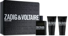 Zadig & Voltaire This is Him! M EDT 50ml + SG 2x50ml