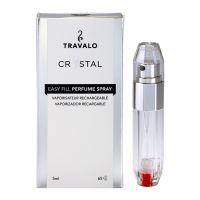 Travalo Crystal HD Elegance - 65 Sprays - Silver