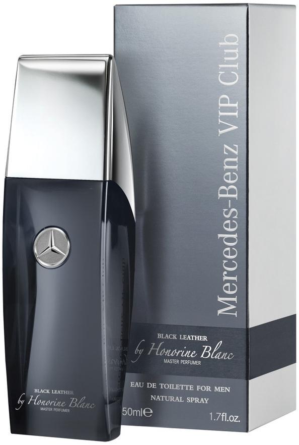 Mercedes-Benz Vip Club Black Leather by Honorine Blanc M EDT 50ml