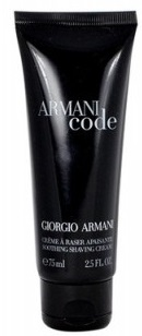 Giorgio Armani Black Code M Soothing Shaving Cream 75ml