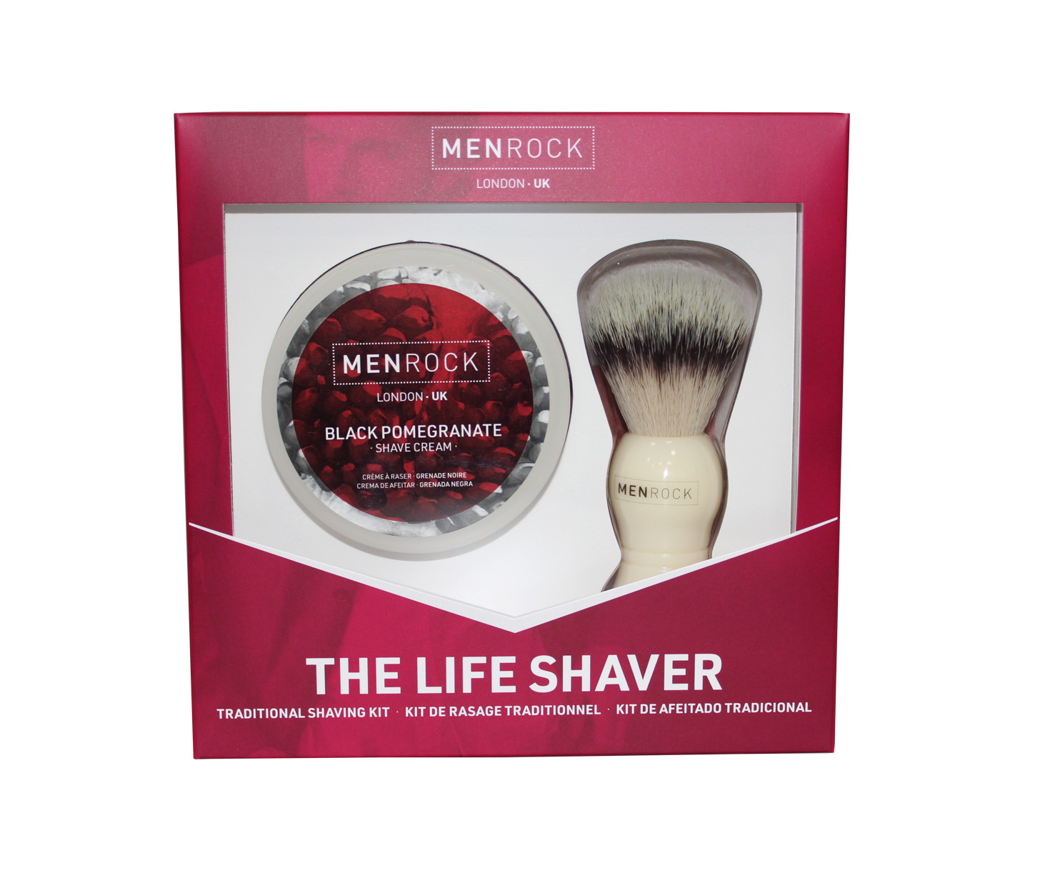 MENROCK The Life Shaver Black Pomegranate SET