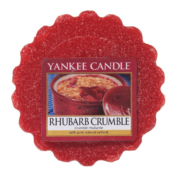 Yankee Candle Vonný vosk Rebarborový crumble 22g