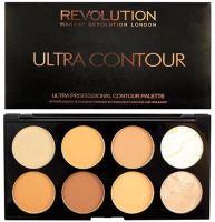 Makeup Revolution London Ultra Contour Palette Medium-Dark 13g