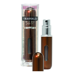 Travalo Classic HD Plnitelný flakón 5ml U - Brown