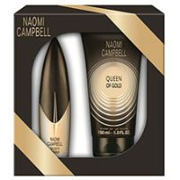 Naomi Campbell Queen Of Gold W EDT 15ml + SG 50ml