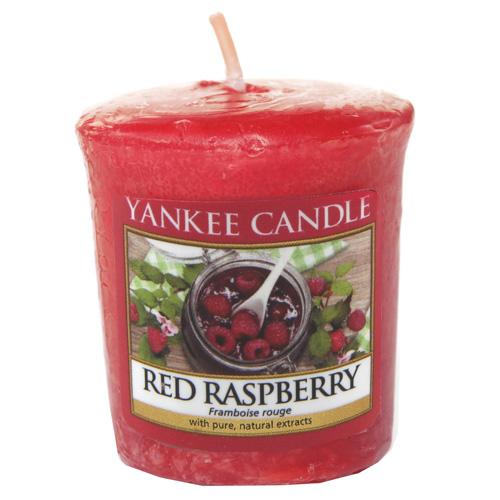 Yankee Candle Votivní svíčka Červená malina 49g