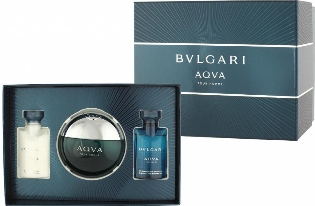 Bvlgari Aqva Pour Homme EDT 50 ml + ASB 40 ml + SG 40 ml M