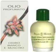 Frais Monde White Cedar And Musk Perfumed Oil Parfémovaný olej 12ml W
