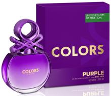 Benetton Colors de Benetton Purple W EDT 80ml