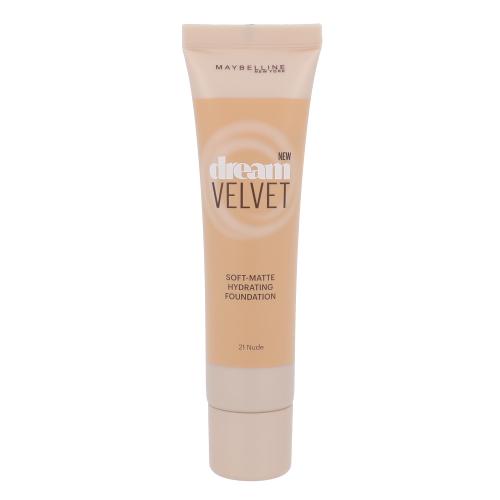 Maybelline Dream Velvet Foundation 30ml - 21 Nude