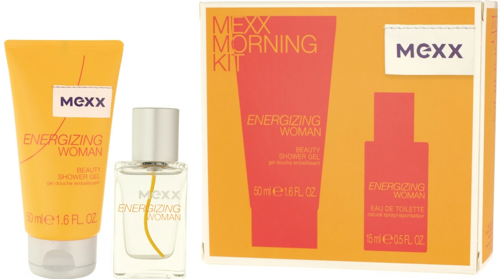 Mexx Energizing Woman EDT 15 ml + SG 50 ml W