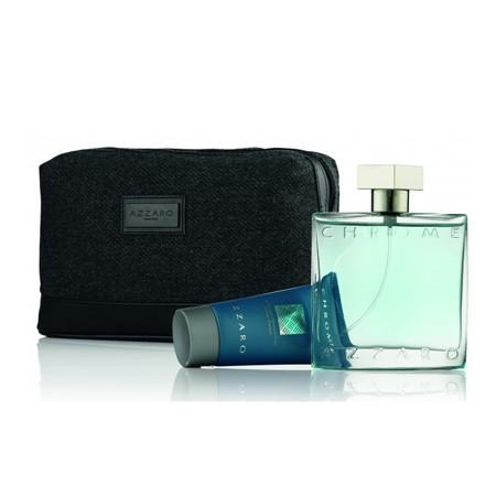 Azzaro Chrome M EDT 50ml + Hair&Body Shampoo 50ml + Bag SET