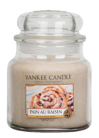 Yankee Candle Rozinkový šnek 411g