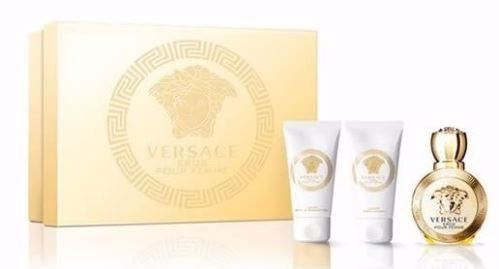Versace Eros pour Femme W EDP 5ml + SG 25ml + BL 25ml