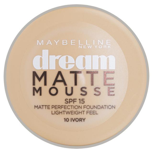 Maybelline Dream Matte Mousse SPF15 18ml - 10 Ivory